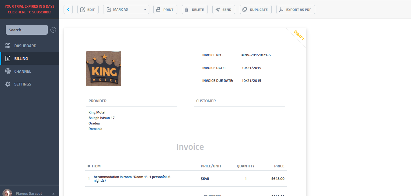 Can I Send An Invoice By Email Or Print It - How to send invoice to client by email
